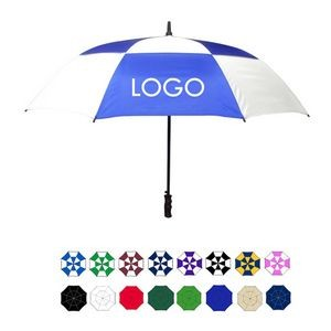 Auto Open Golf Umbrella w/ Plastic Handle (60