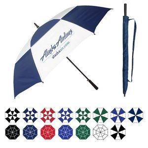 Oversized Golf Umbrella w/ Rubberized Handle (64